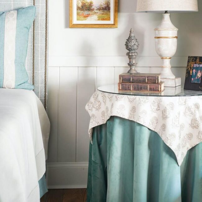Erin Gilmer Interiors five points athens bedroom design