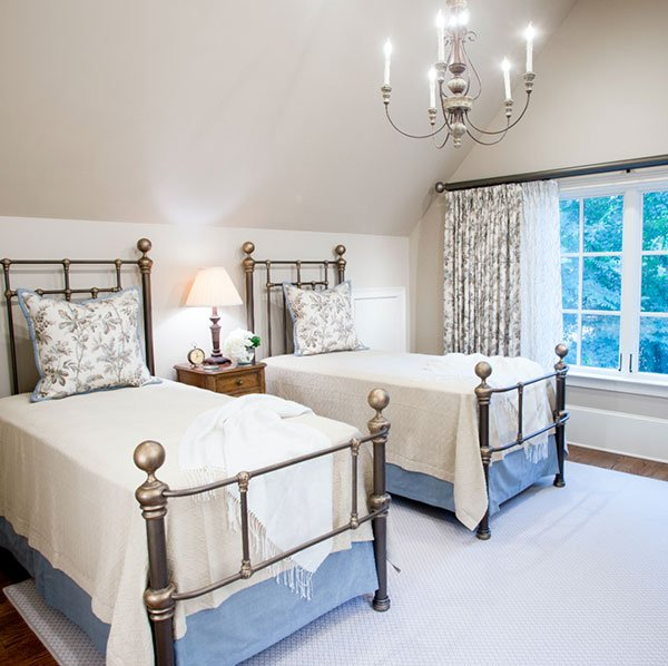 Erin Gilmer Interiors Moncrief twin bedroom design