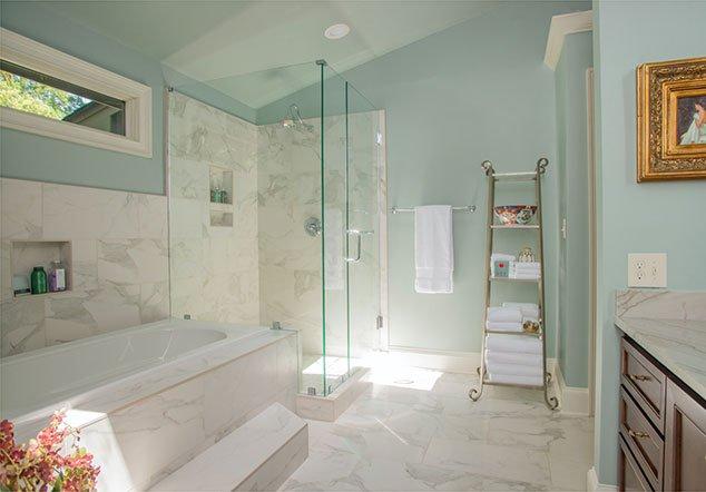 Five Points Athens Shower room Interior Design