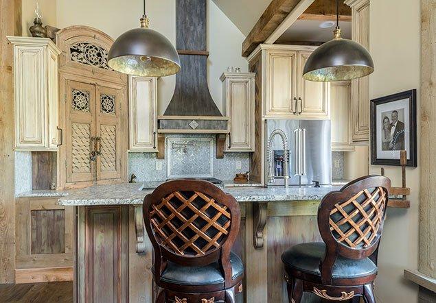 Appling Kitchen Counter Interior Design