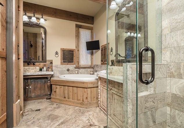 Appling master's bathroom interior design