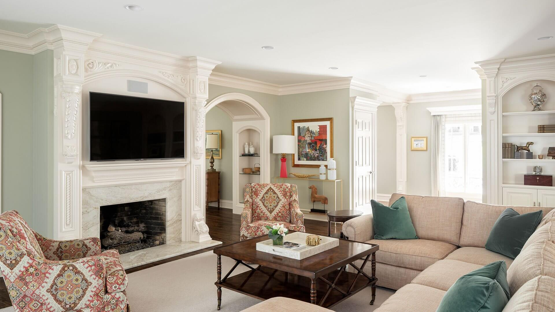 Erin Gilmer Interiors Living Room Interior sample design