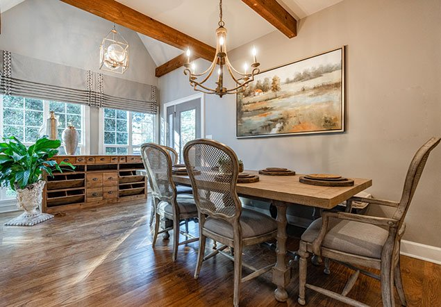 Shoal Creek Farms Dining Area Interior Design