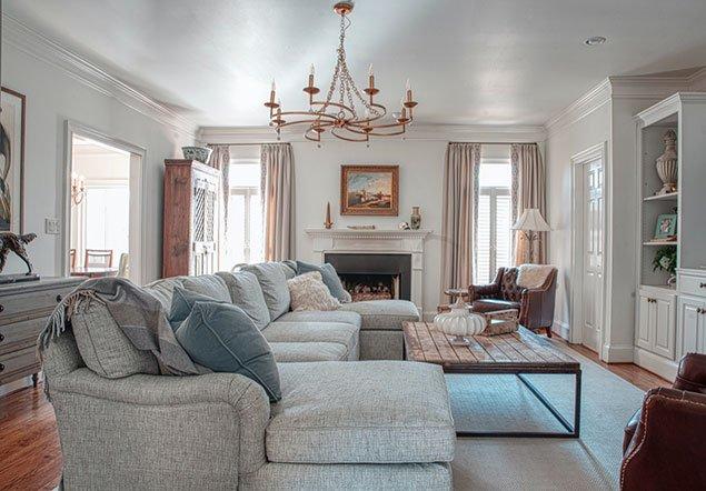 Tanglebrook Living Area Interior Design