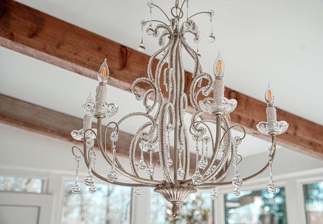 Tanglebrook Chandelier interior design