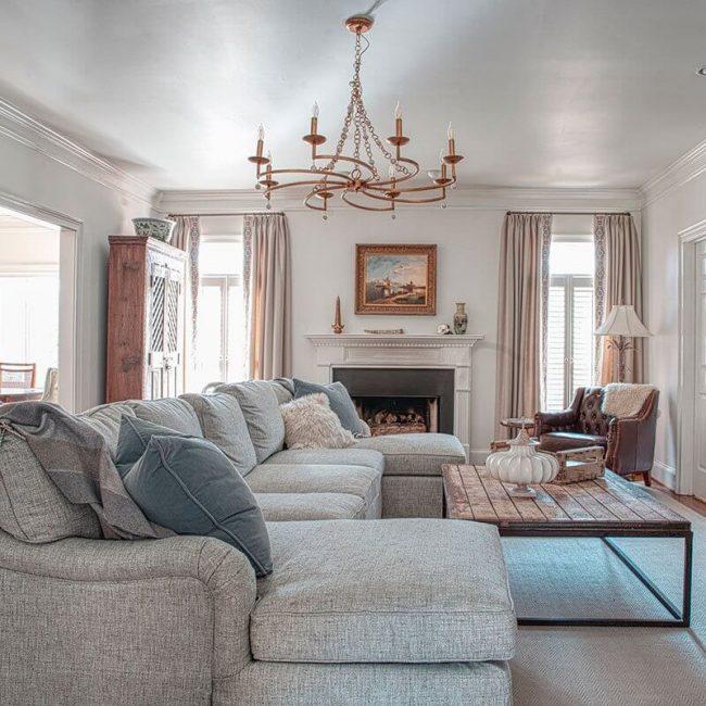 Tanglebrook Living room area setup for interior design