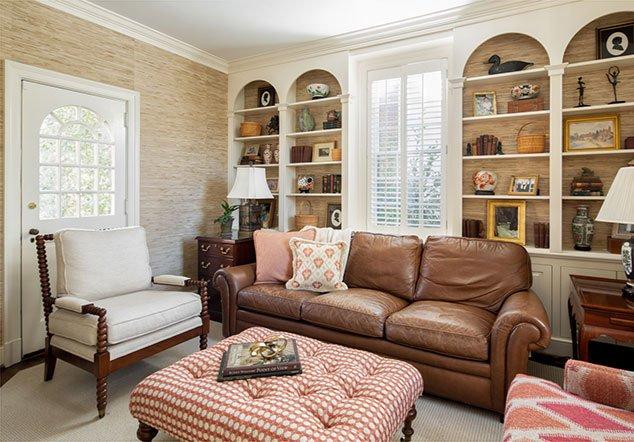 Three Chopt Road Living Room Area interior design
