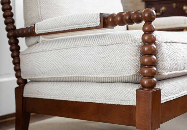 Three Chopt Road Detailed Chair interior design