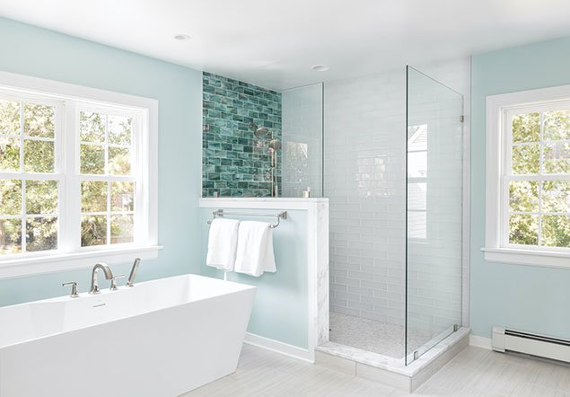 Willow Lawn Bathroom Interior Design